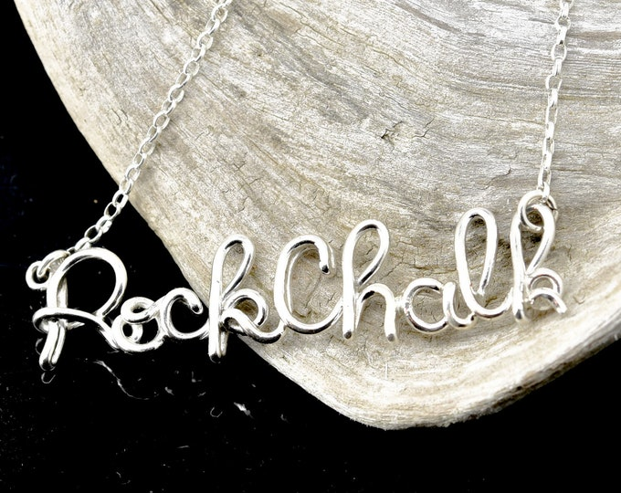 Name Necklace, Wire necklace, Personalized necklace, Gift for her, Wire Name necklace, personalized wire necklace