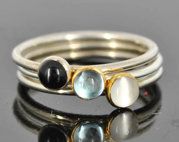 Black onyx ring, Gold bezel, gemstone ring, stacking ring, july birthstone ring, personalized ring, bridesmaid ring, bridesmaid gift