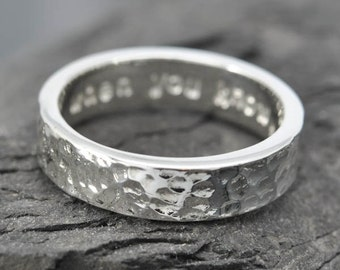 Mens Wedding Band, Wedding Ring, engagement ring, mens ring, wedding band, man wedding ring band, sterling silver ring, personalized ring