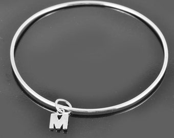 Personalized bracelet, personalized bangle, charm bracelet, charm bangle, friendship bracelet, friendship bangle, ID bracelet, ID bangle