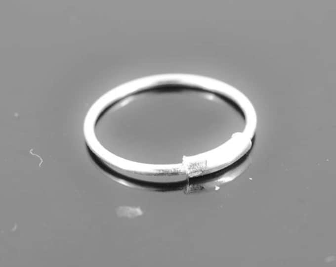 Nose Ring, Hoop Earring, Hoop Nose ring, sterling silver, nose stud, nose piercing, nose jewelry, body jewelry
