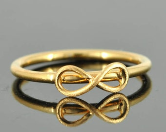 infinity ring, infinity knot ring, best friend ring, promise ring,personalized ring, friendship ring, sisters ring, bridesmaid gift, bridal