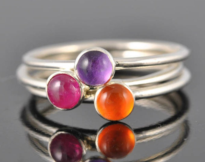 Ruby ring, bridesmaid Ring, bridesmaid gift, bridesmaid jewelry, bridal jewelry, wedding gift, wedding, stacking ring, july birthstone ring,