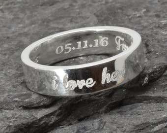 Wedding Band, Wedding Ring, Engagement Ring, Mens Ring, Mens Wedding Band, Man Wedding Ring band, men promise ring, men ring