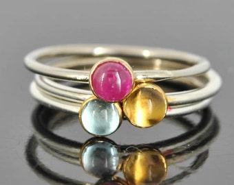 Ruby ring, Gold bezel, bridesmaid Ring, bridesmaid gift, bridesmaid jewelry, bridal jewelry, wedding, stacking ring, july birthstone ring,