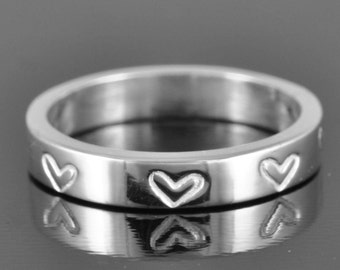 heart ring, wedding band, personalized, star, initial, name, engagement ring, wedding ring