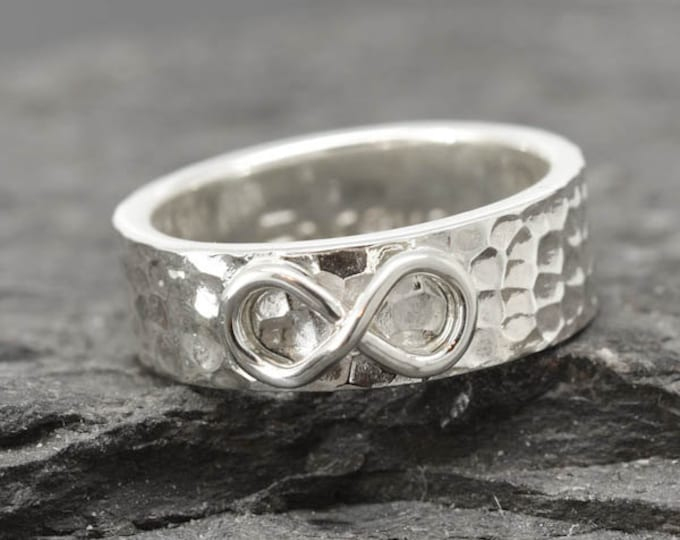infinity ring, knot, best friend, promise, personalized, friendship, sisters, engraved, wedding,  Bridesmaid Gift, Mens Ring, Wedding Band