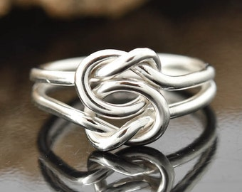infinity ring, double infinity, twisted, rope, sisters, best friend, wedding, bridesmaid gift, bridal jewelry, promise ring, anniversary