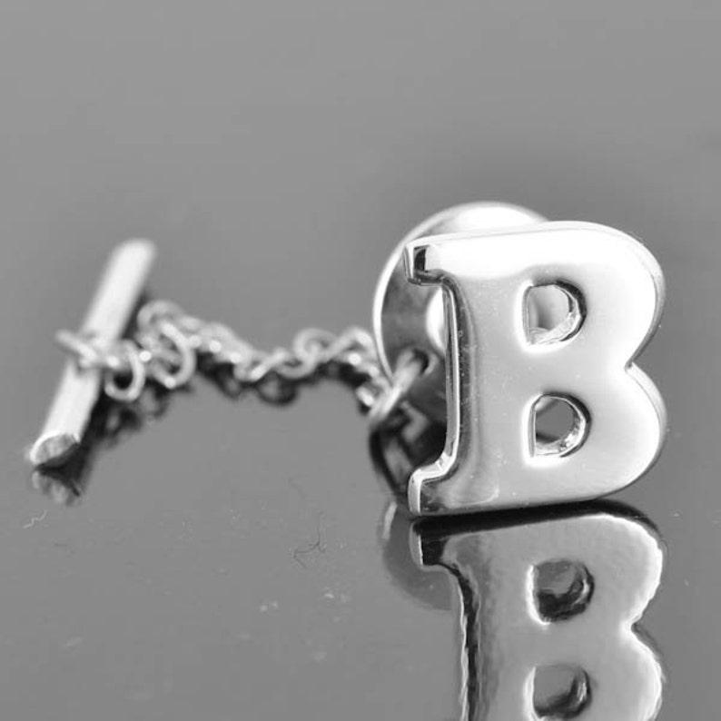 b1978261e539c Épingle à cravate initiale épingle de cravate cravate