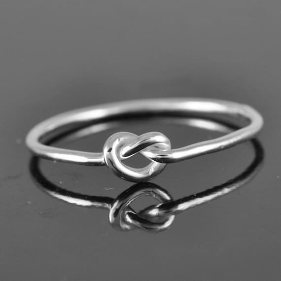 8cfa9f66e24b5 Infinity ring, infinity knot ring, best friend ring, promise  ring,personalized ring, friendship ring, sisters ring, Bridesmaid Gift,  Bridal