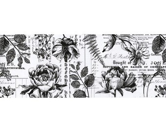 Tim Holtz Idea-ology Collage Paper 6yds - Botanical