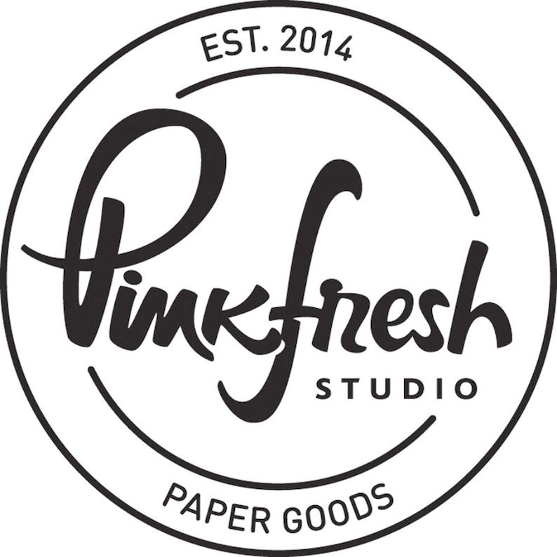 Pinkfresh Studio Believe in Yourself stamp and die set PFCS1320