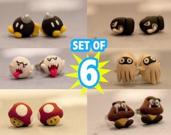 Mario Set of 6