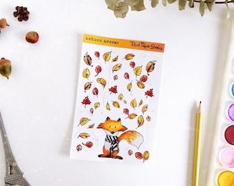 Autumn Breeze sticker sheet