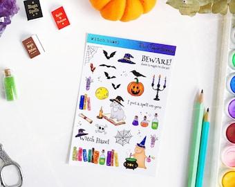 Witch Hazel sticker sheet