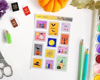 Cast a Spell sticker sheet