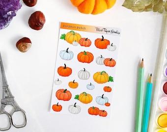 Pumpkin Patch sticker sheet