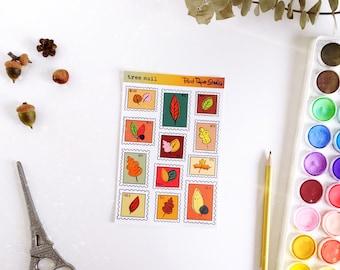 Tree Mail sticker sheet