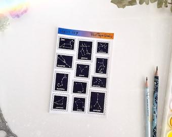Night Sky sticker sheet