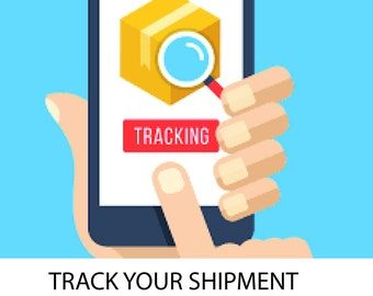 Add TRACKING to your order - follow your parcel until it reaches your destination