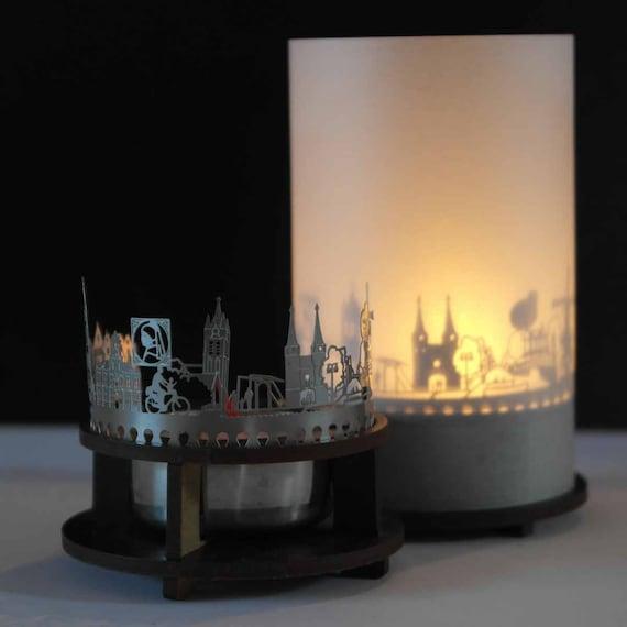 Delft Skyline Candle Votive Premium Gift Box 3d Attachment Etsy