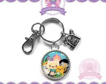 Adventure Time - Keychain Purse Charm
