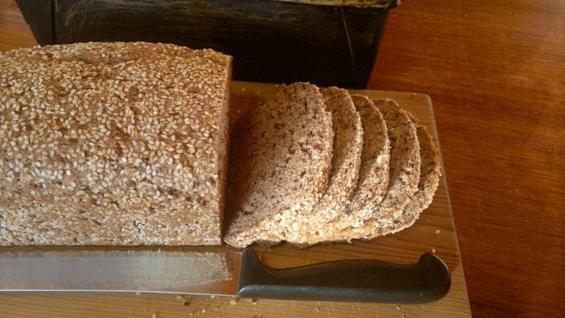 Sorghum Multi-seed Bread recipe gluten free dairy free egg image 0