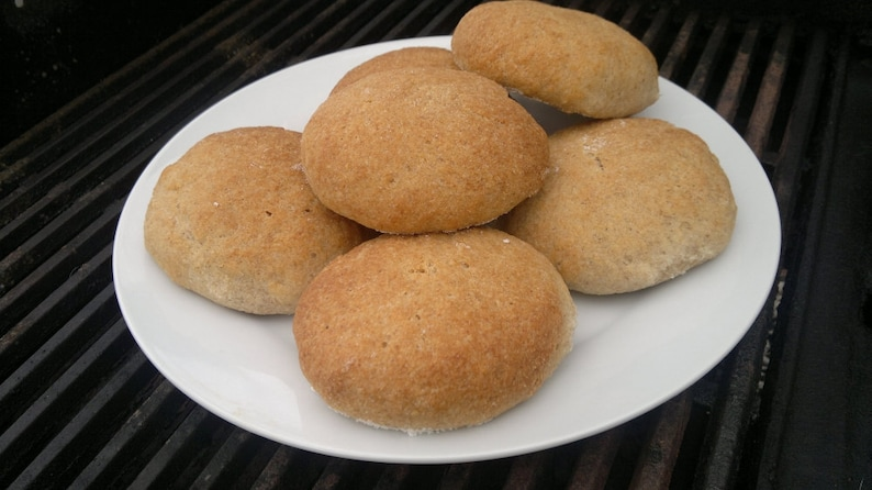Hamburger Buns recipe gluten free no dairy no gum image 0