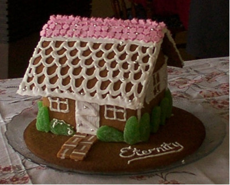 Gingerbread House recipe gluten free and gum free image 0