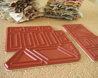 The BUILDING HOUSES from SCRAPS Quilt Stamp set (only rubbers)
