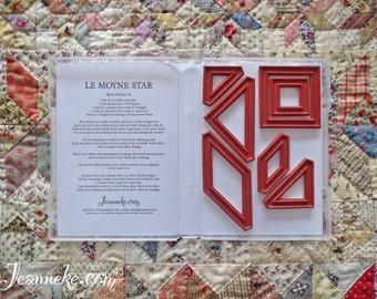LEMOYNE STAR Quilt stamp set (only rubbers)