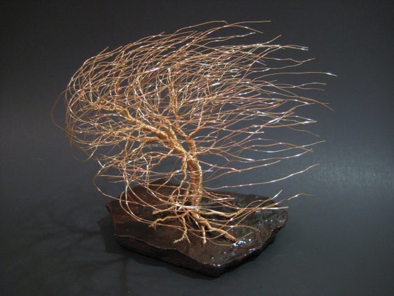 Wire Tree Sculpture | Gift for Anniversary | Gifts for Birthday | Christmas Gift Idea | Wire Art | Gift for Her | Gifts for Him