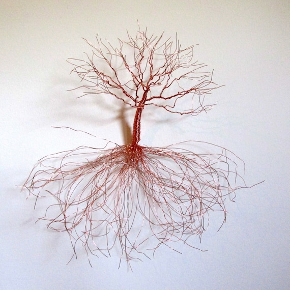 Metal Wall Sculpture | Copper Wall Art | Wall Decor | Home Decor Wall Art | Wall Tree | Metal Wall art