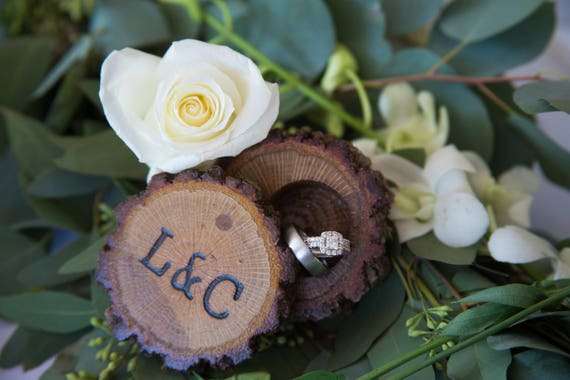 Oak Ring Box | Ring Bearer Box | Engagement Ring Box | Wedding Ring Box | Wood Ring Box