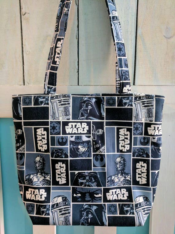 Star Wars Tote Bag / Star wars / For Her / Bags and Totes / Custom Made / Star Wars Bag