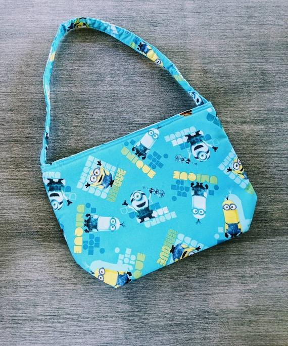 Blue Minions Tote Bag