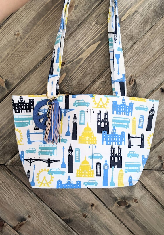 London Inspired Tote Bag