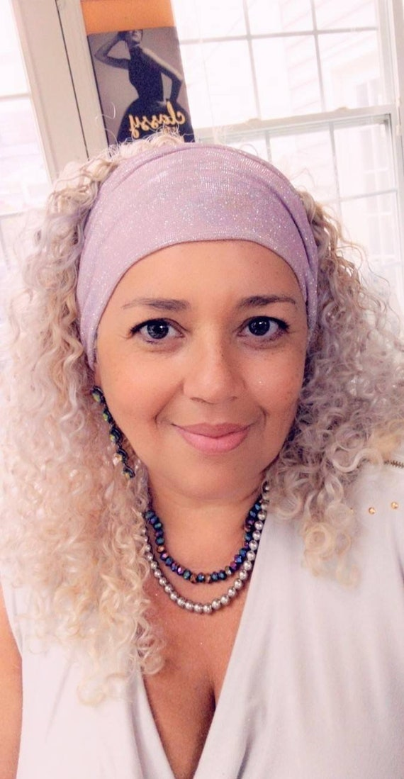 Sparkly headband / Pink sparkly headband / Blue Sparkly headband