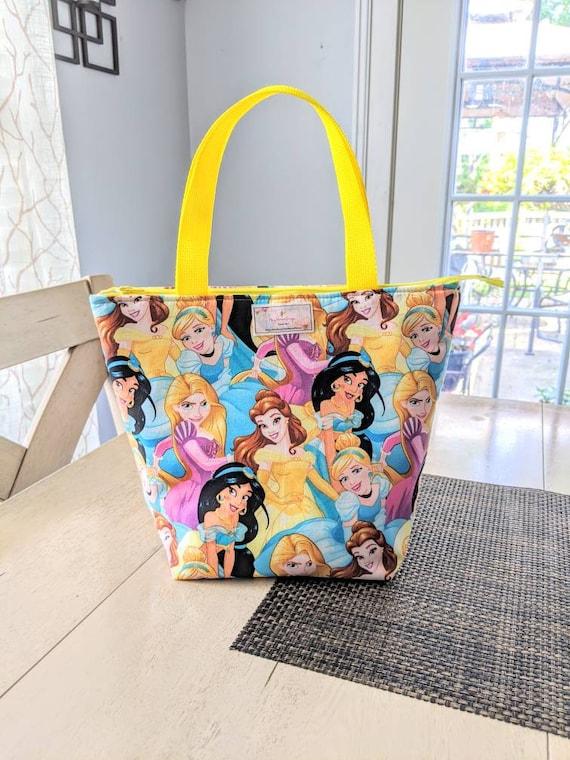 Princess Lunch Bag / Princess Jasmine Lunch Bag / Insulated Lunch Bag