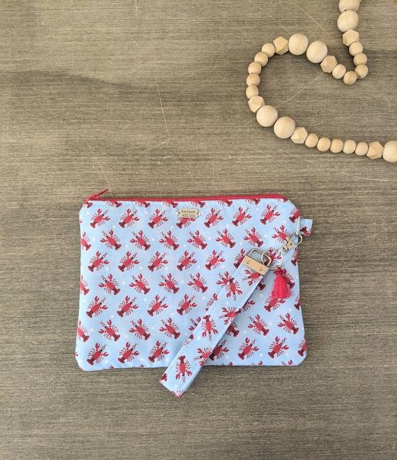 Lobster Wristlet Bag / Clutch