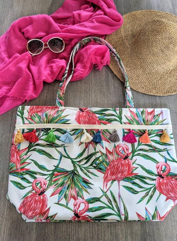 Flamingo Tropical Beach be Bag