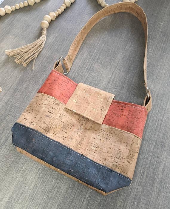 Cork Bag / Small Cork  Shoulder Bag