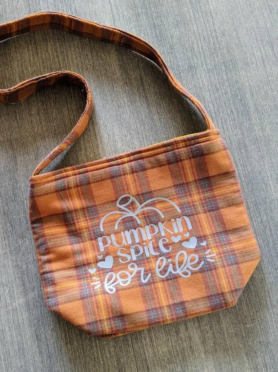 Shoulder Bag / Pumpkin Bag / Fall Bag