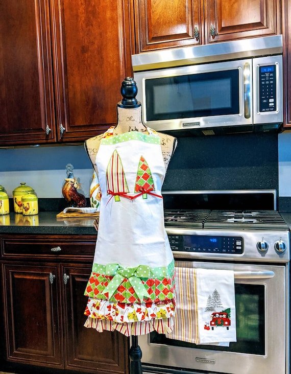 Christmas Retro Apron