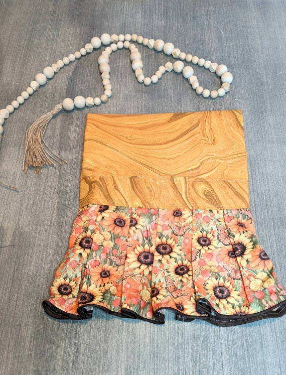 Sunflower Butterfly Apron / Kitchen Apron