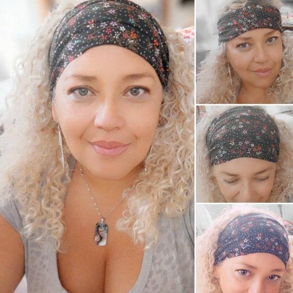 Boho Bandeau / Boho Headband / Yoga Headband / Face mask
