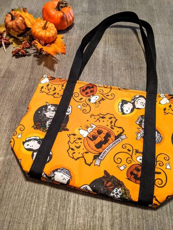 Snoopy Halloween Tote Bag
