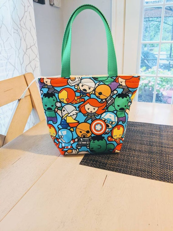 Chibi Marvel Characters Lunch bag
