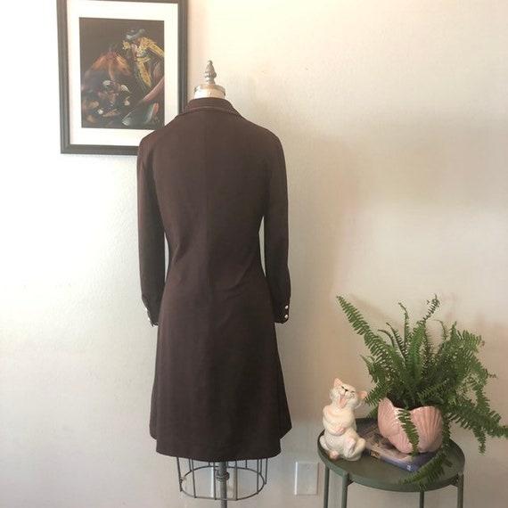 VTG 1970s shirt dress - image 6