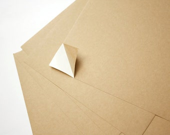10/20/30 pieces A4 Self-Adhesive Kraft Paper for DIY Sticker Making